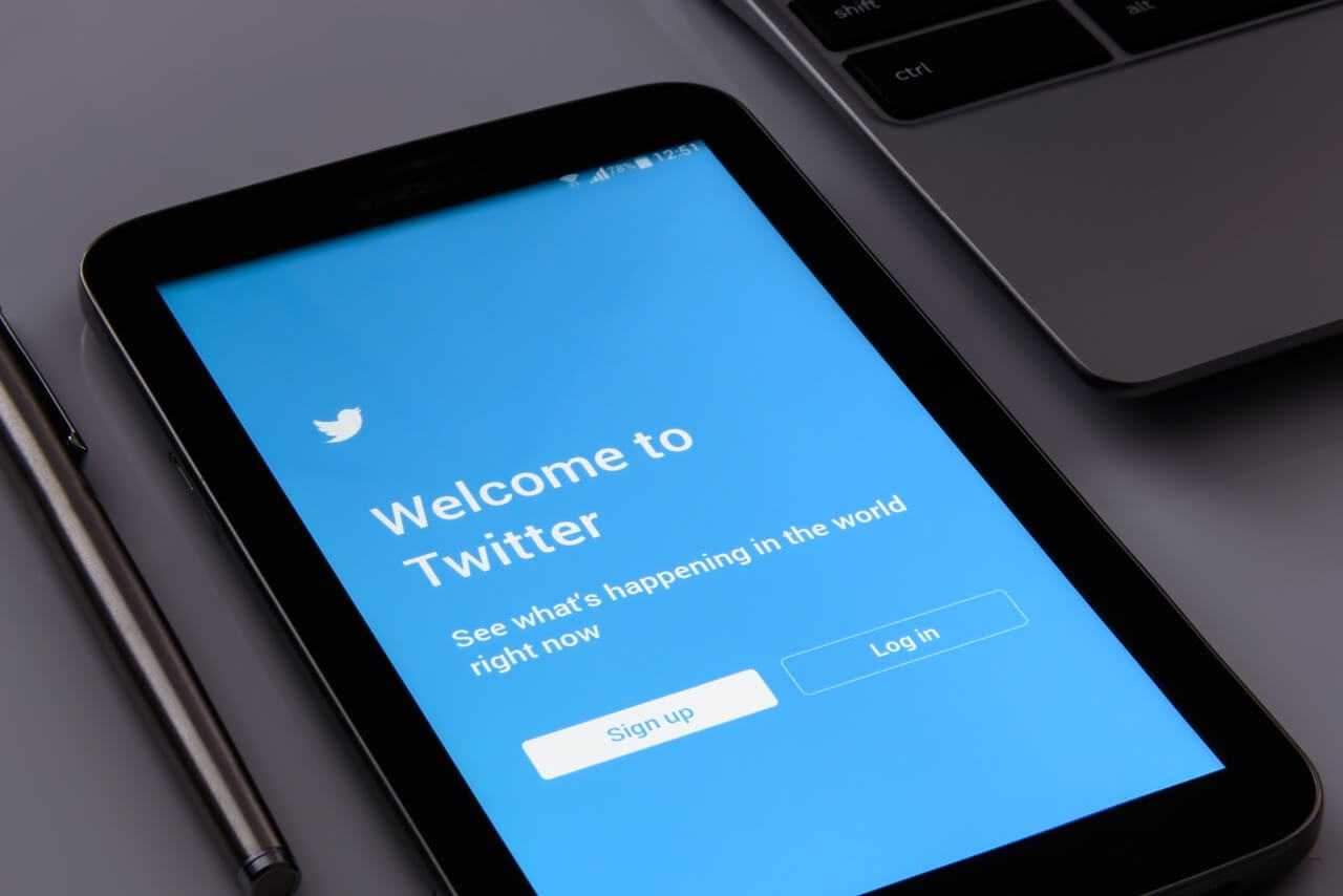 Welcome to twitter screen
