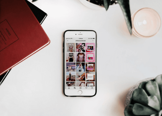 social media for fashion and jewellery
