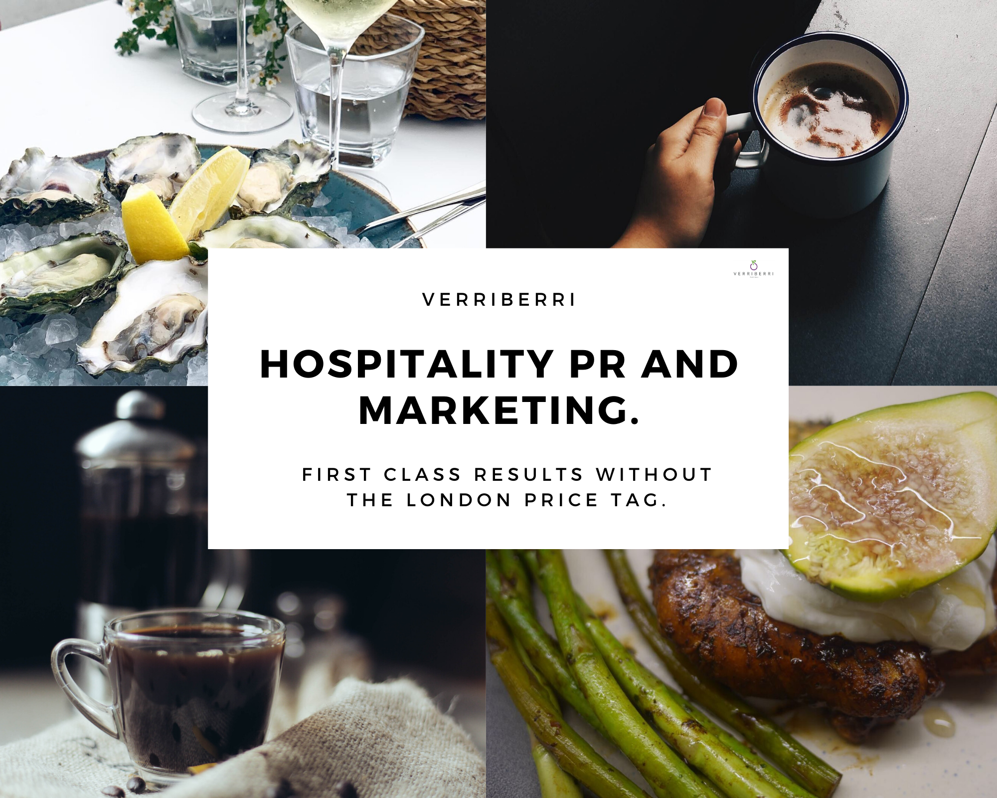 Food and drink hospitality PR agency